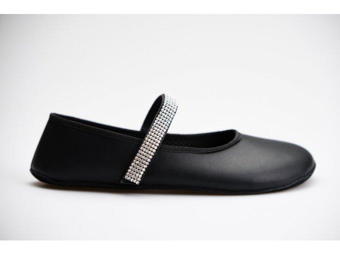 balerínky barefoot Ahinsa černé