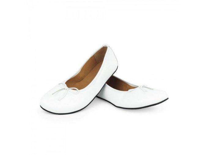 bile barefoot balerínky