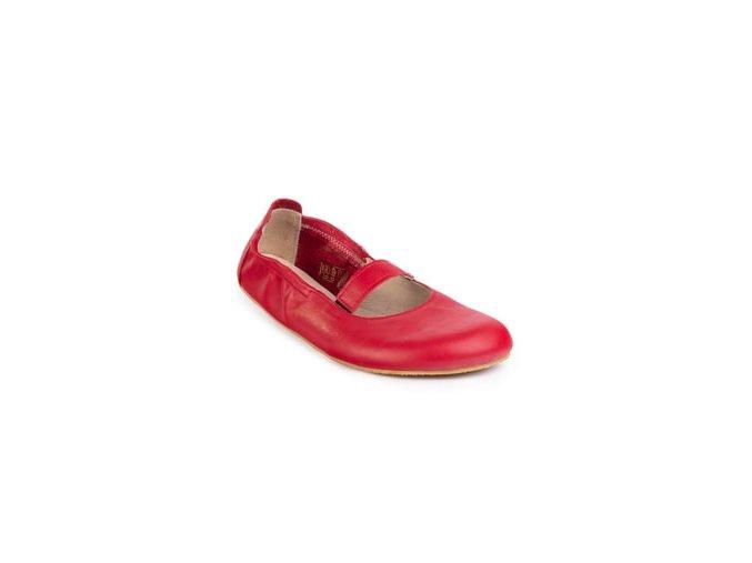 Anlges červené baleríny