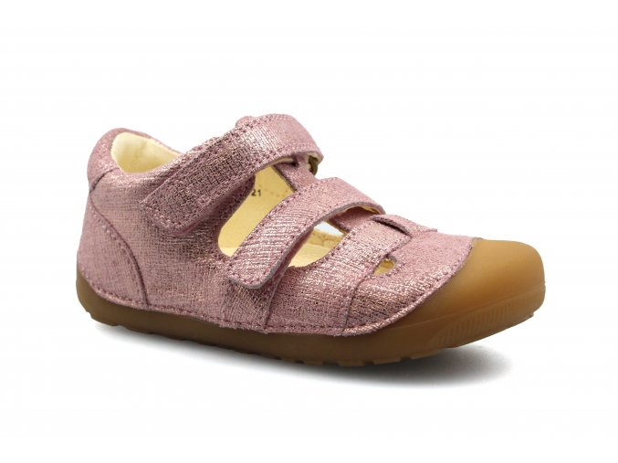boty Bundgaard Pink Grille Sandal (Petit)