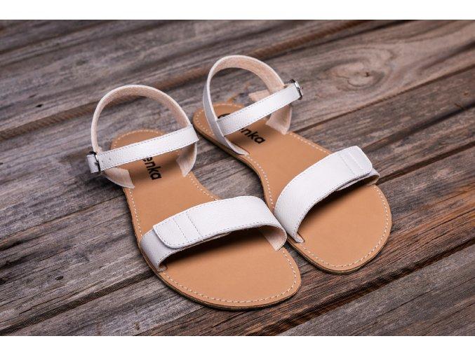 sandály be lenka Grace White