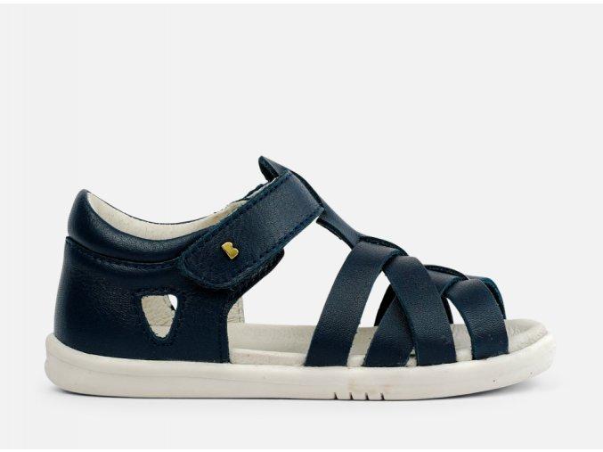 páskaté sandály s pevnou patou