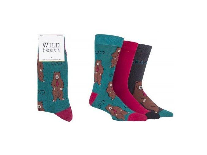 ponožky s medvědem