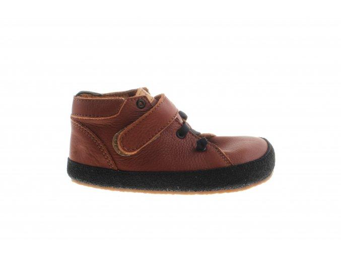 kožené kotníčkové barefoot boty české