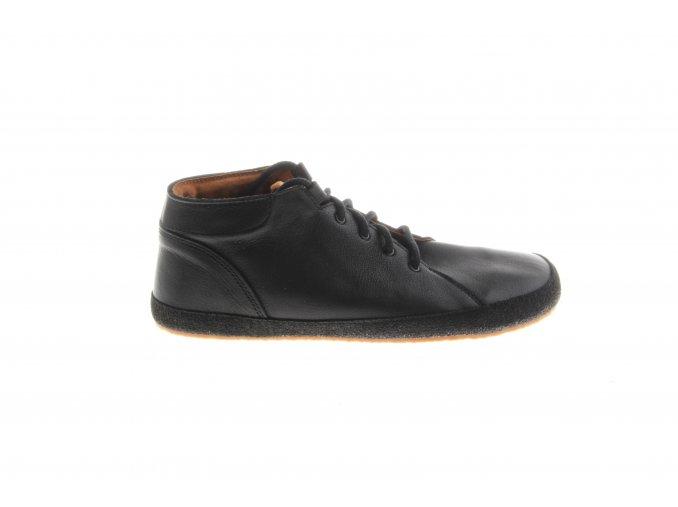 černé barefoot boty