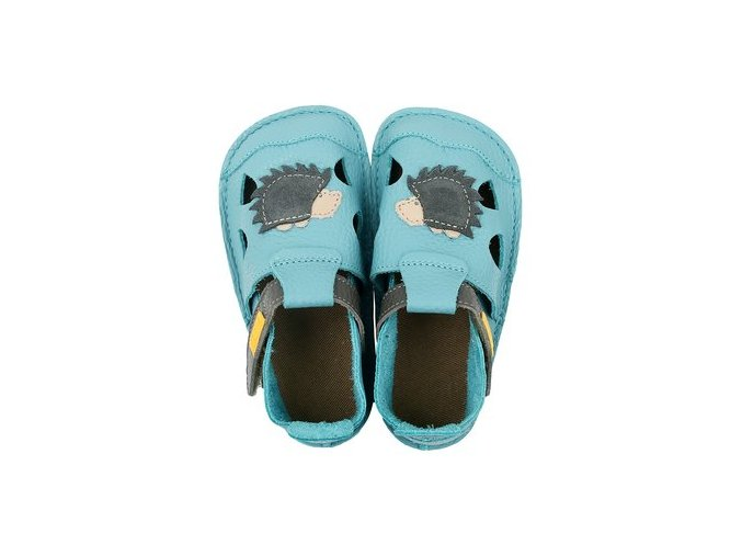 sandály kožené barefootové