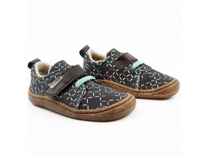 tikki vegan shoes harlequin lines