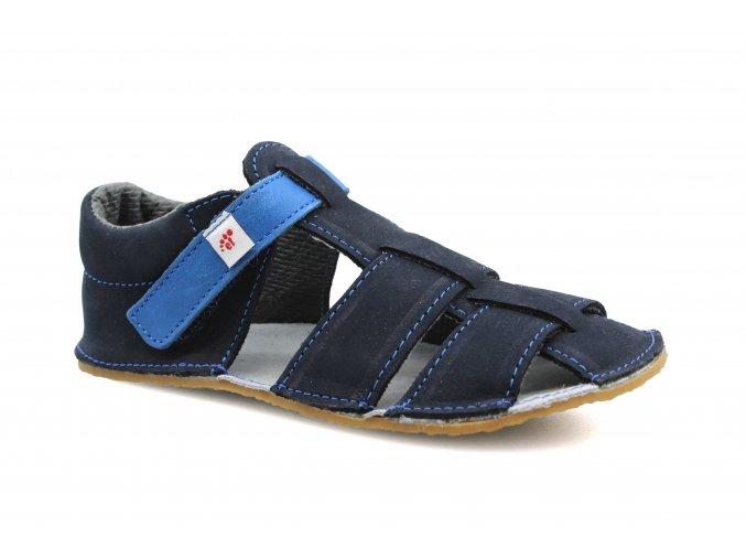 sandály Ef Tmavě modrá