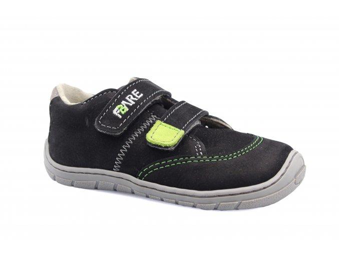 boty Fare 5114211 černé, 2 suché zipy (bare)