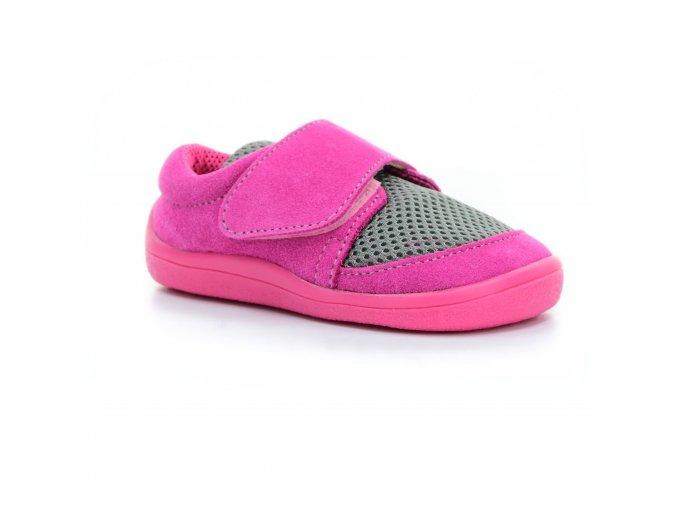 boty Beda Rebecca (BF 0001/SK/1W/OB síťovina s kůží, 1 suchý zip)