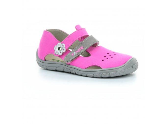 sandály Fare B5464251/B5562251 růžové (bare)