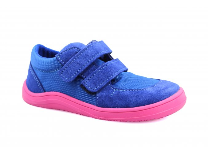 boty Baby Bare Shoes Febo Sneakers Navy/Pink