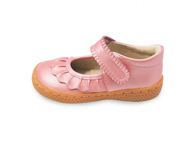 růžové balerínky