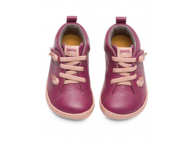 boty Camper Peu Cami Violet kotníčkové (First Walkers)