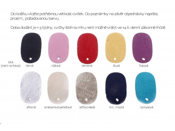 na objednání - gymnastické cvičky Wins Evelí libovolná barva