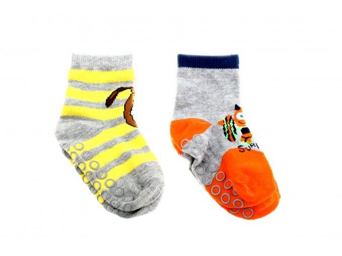 protiskluzové dětské ponožky