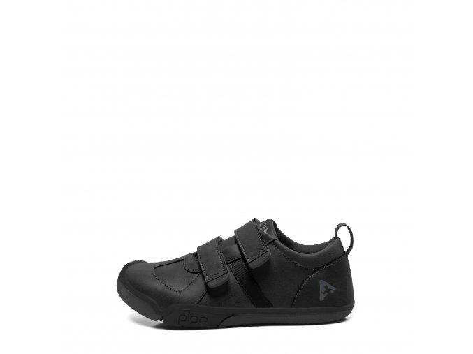 Elegant chlapecké boty Plae nat black