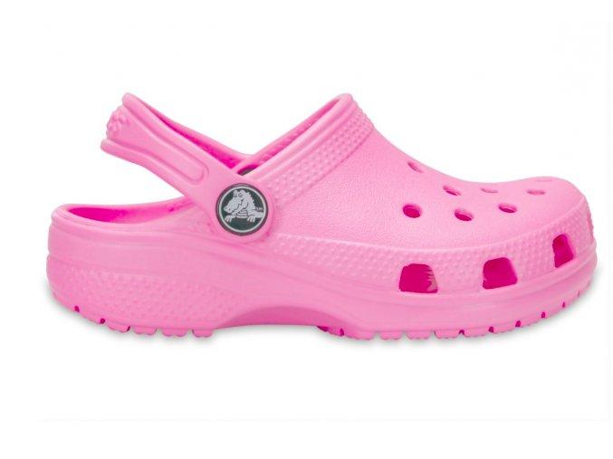Crocs růžové