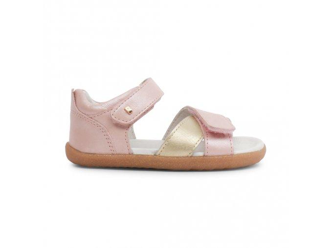 Sandálky Bobux Blush + Gold Sail