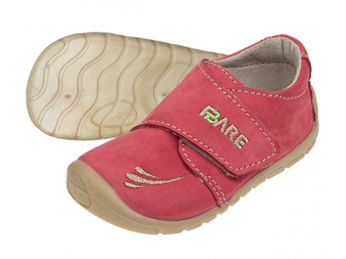barefoot boty české