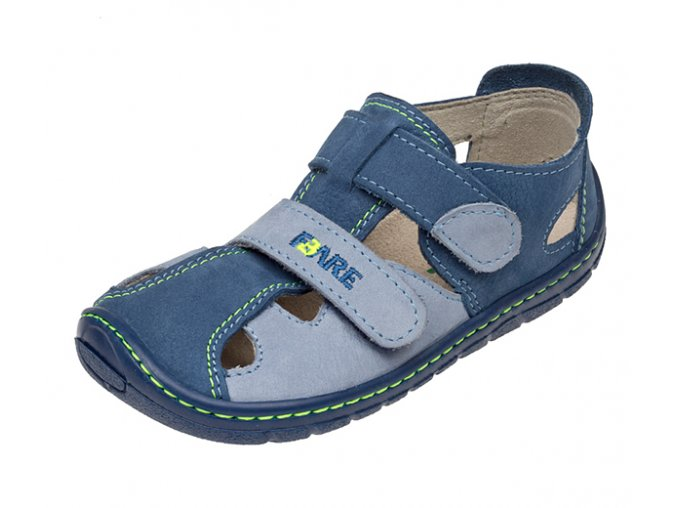 sandály Fare 5161201 modré (bare)