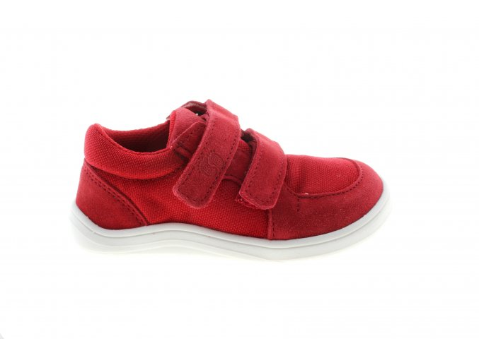 Baby bare sneakers red