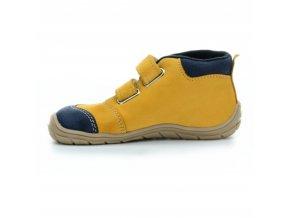 boty Fare 5121281 hnědo-modré kotníčkové (bare)