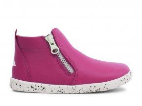 Bobux kotníčkové boty se svítícím zipem