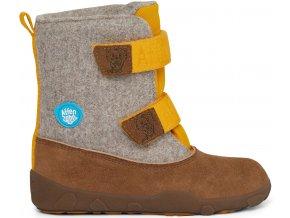dětské barefootové zimní boty