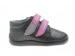 boty Beda Dark Violette kotníčkové s membránou (BF 0001/W/M)