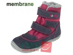 boty Fare A 5141291 červené s membránou (bare)