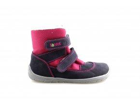 zimní barefoot boty s membránou
