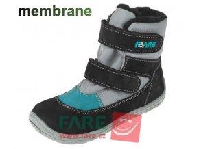 boty Fare 5241201 šedé s membránou (bare)