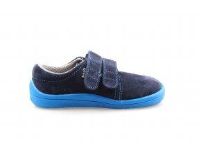 boty Beda nízké Daniel modré (BF 0001/W/nízký)