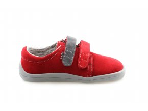 Elis červené celoroční barefoot boty