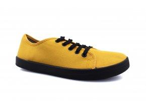 boty Anatomic All in 05 žluté s černou podrážkou