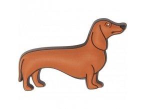 crocs ozdoba jibbitz dachshund