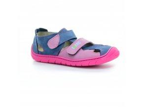 sandály Fare 5161251 růžovo-modré (bare)