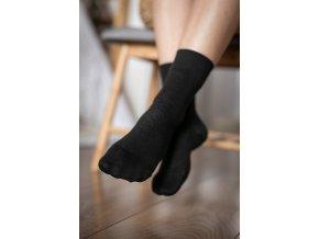 be lenka ponožky černé