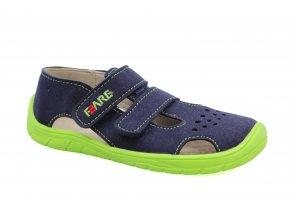 sandály Fare 5262201 modro-zelené (bare)