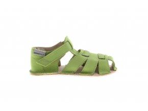 sandály zelené