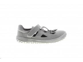 šedé sandály