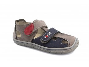 sandály Fare 5161261 šedo-modré (bare)