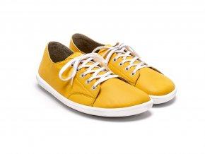 žluté barefootové tenisky