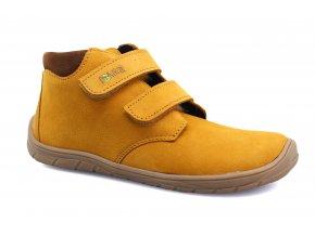 boty Fare 5221281 žluté kotníčkové (bare)