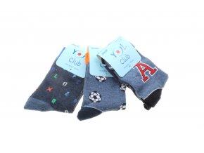 ponožky A tým, 3 páry