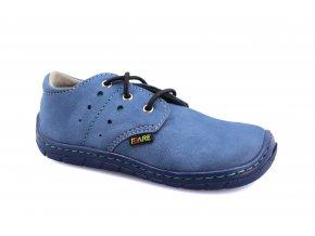 boty Fare 5113202 modrá, gumové tkaničky (bare)