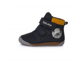 kožené zimní boty pro děti