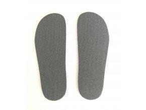 antibakteriální zastřihovací barefoot stélky, 1 pár