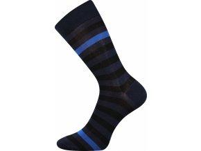 ponožky pruhované modré